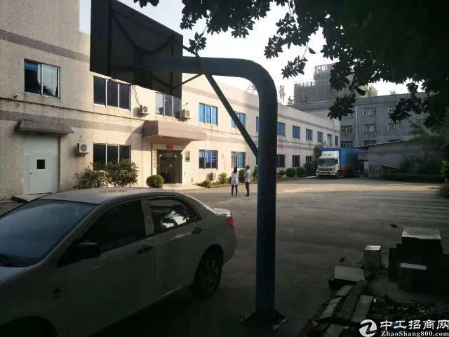 黄江镇实际面积一楼1000平方米厂房特价出租