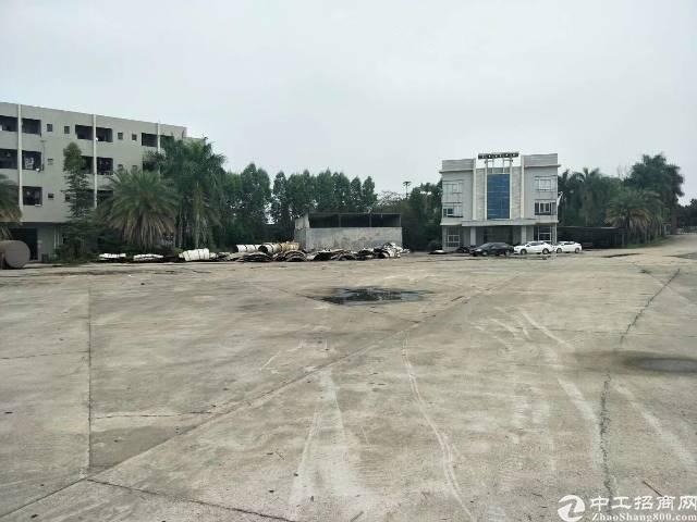 石湾原房东空地大租金六元,可以做驾校工业用地。