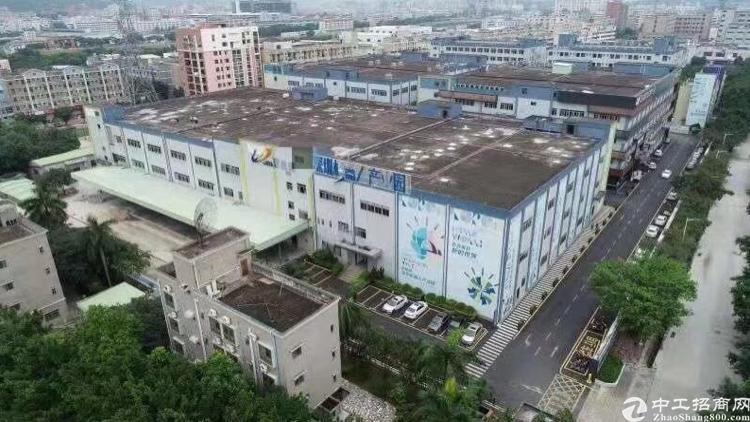 松岗地铁口单层大面积厂房出租1000平米起可分租红本厂房可办