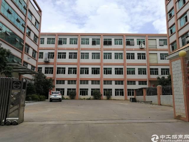 凤岗新出4700平米带牛角带办公室标准厂房