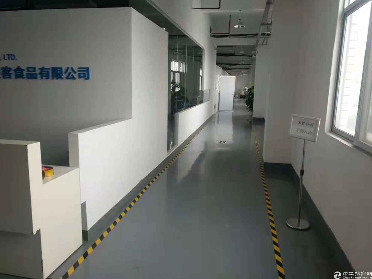 福永桥头地铁口新新出楼上精装修写字楼600平带家私