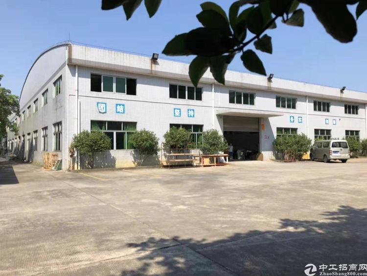 惠州市博罗县园洲工业区内标准厂房出售