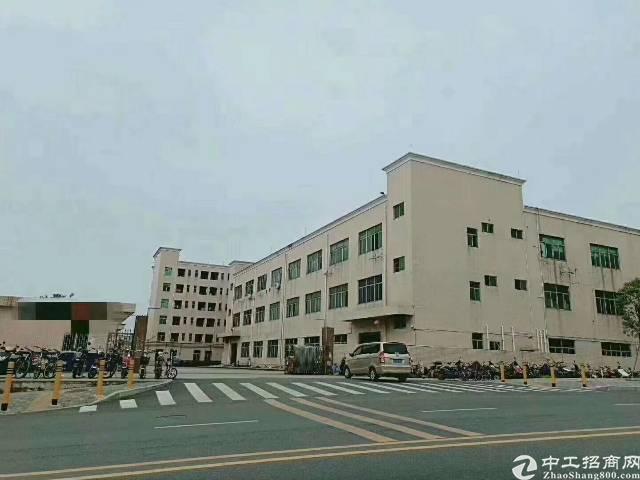 平湖华南城附近新出原房东6800平方独院厂房大小分租