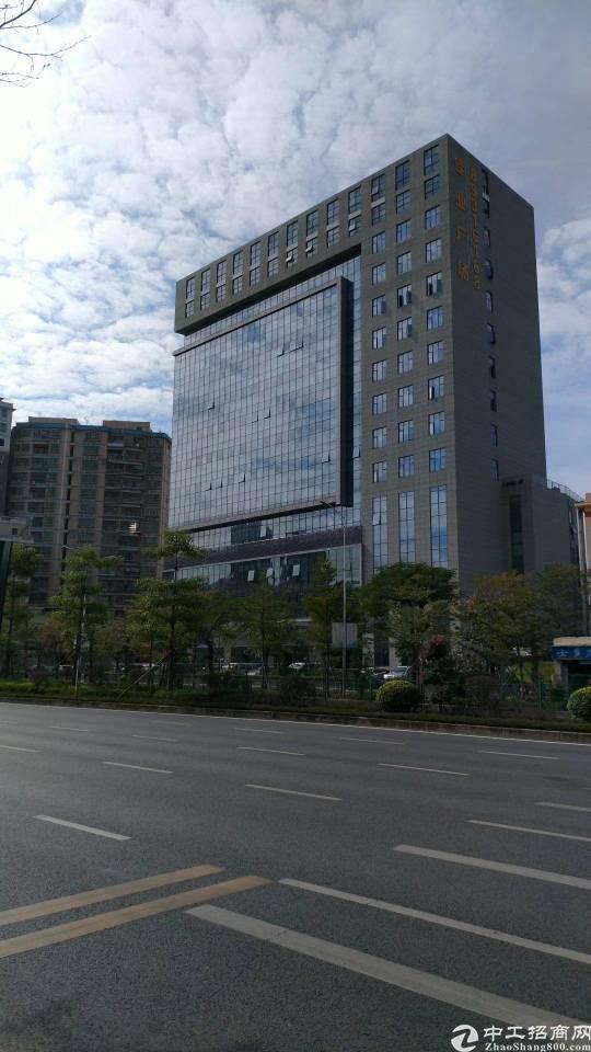 龙岗性价比最高准甲级写字楼35元起租,距离地铁口700米!