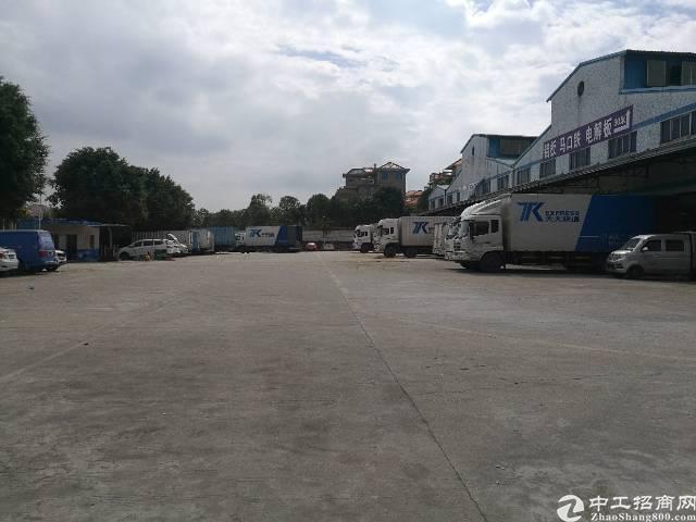 西乡九围洲石路边大型工业园1100平米钢钩厂房出租