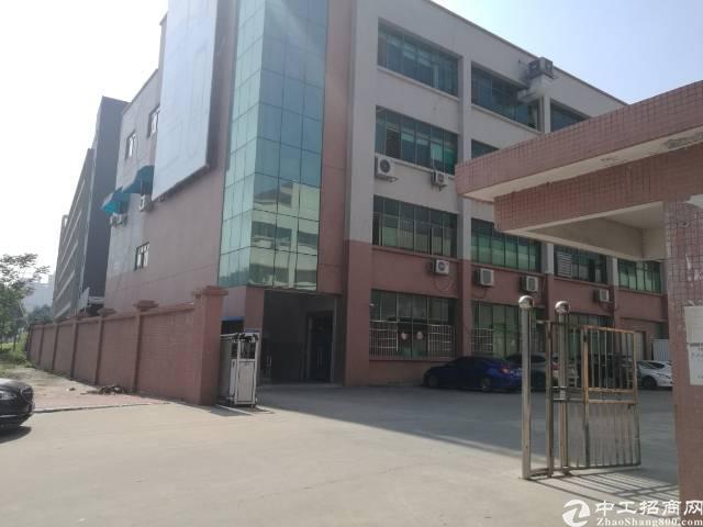 寮步镇西溪工业园区独院厂房出租分租二楼500㎡带办公室