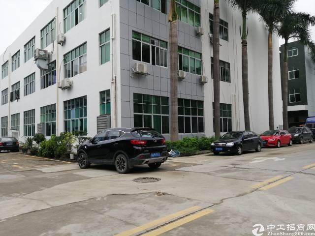 公明南光高速出口新出楼上精装修带红本可办环评1200平方