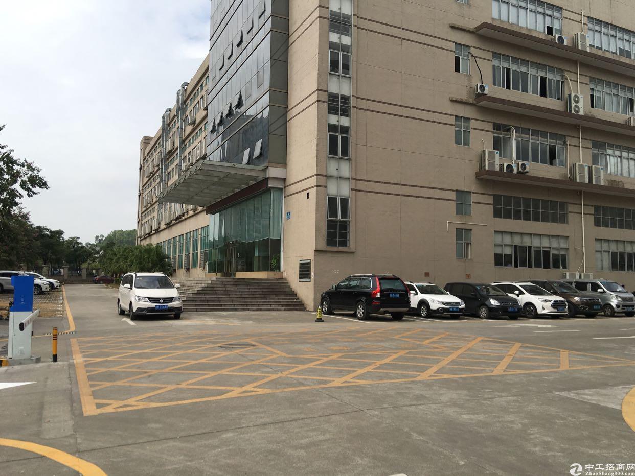 龙华大浪商业中心原房东精装修厂房出租园区环境好