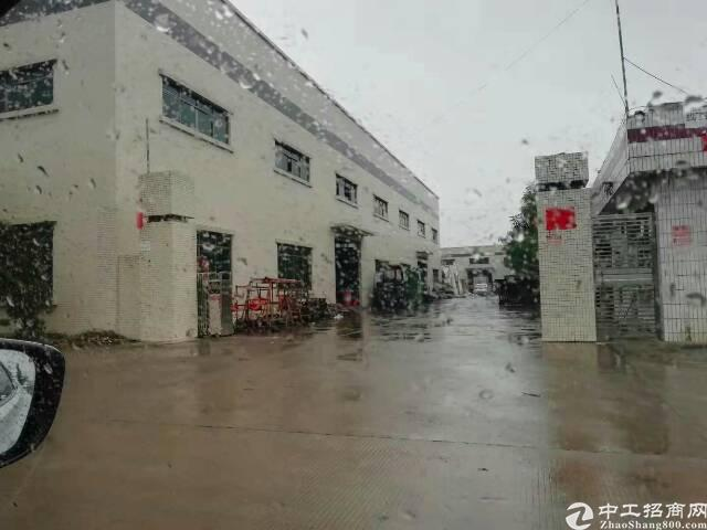 企石带红线图单一层厂房2500平米出售