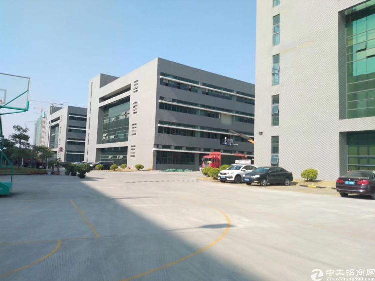 石岩独栋厂房1-4层8500平(可分层租)