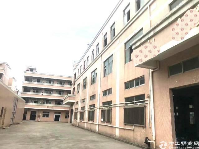 凤岗镇凤清路边上新出标准厂房