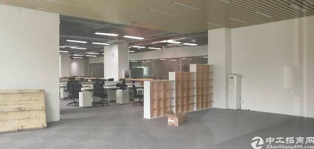 原房东福永地铁口标准厂房实际面积带装修出租1080平方