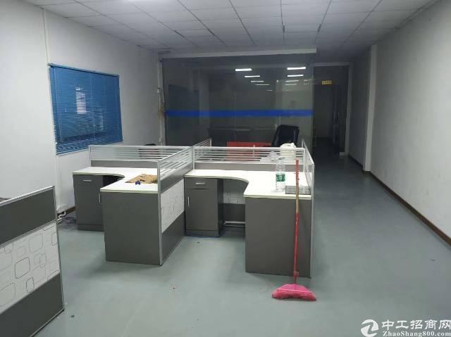 高速出口边楼上800平方带装修厂房 有办公室装修,