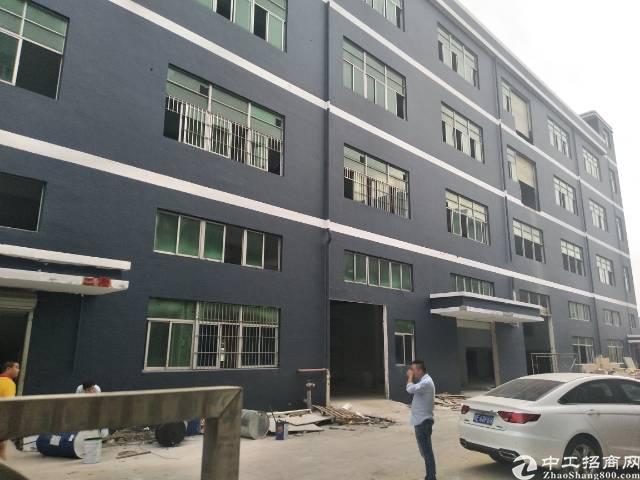 沙井新桥第三工业区新出独院厂房1到4层6000平方出租