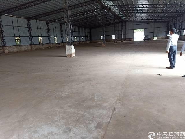 沙井新桥村委5000平独院钢构出租