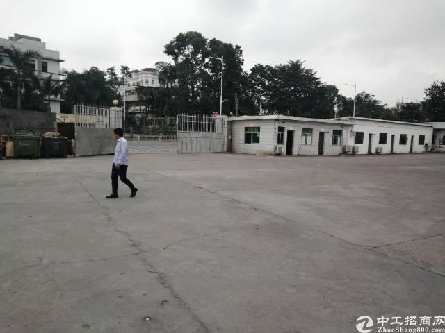 观澜新出原房东独院单一层物流仓库带卸货平台