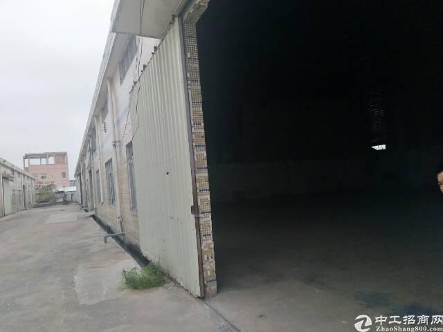 镇隆惠州市新空出钢结构厂房仓库出租