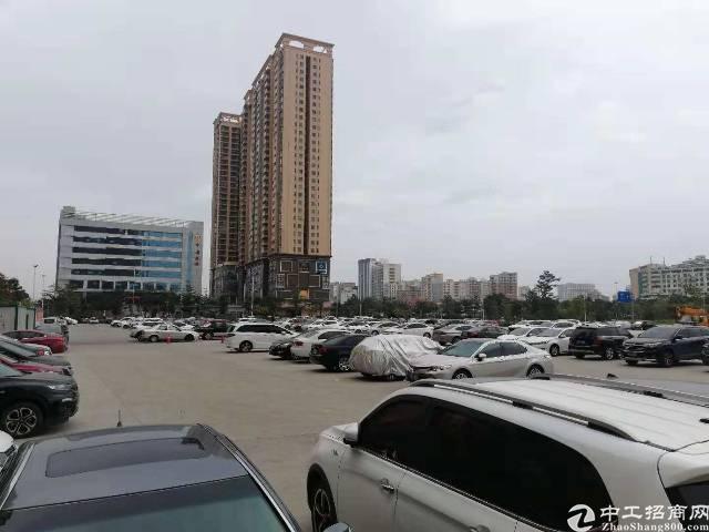 沙井中心路旁新出17000平硬化空地,可以做任何行业。