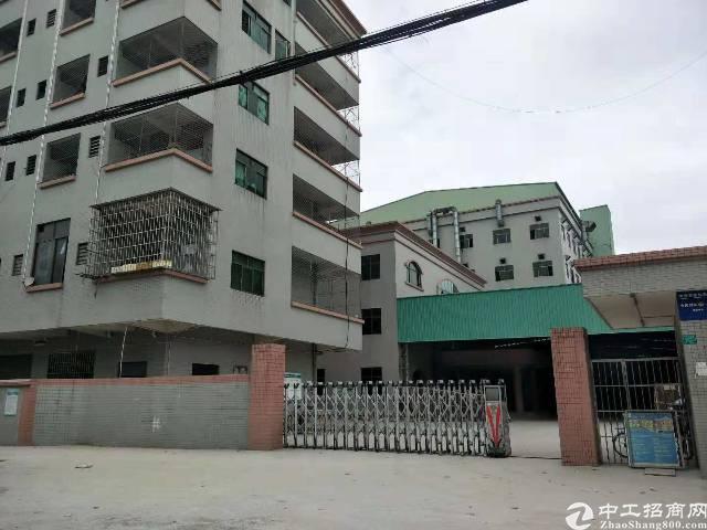家具厂出租(带锅炉吸尘设备) 东莞东城附近9成新标准厂房出租