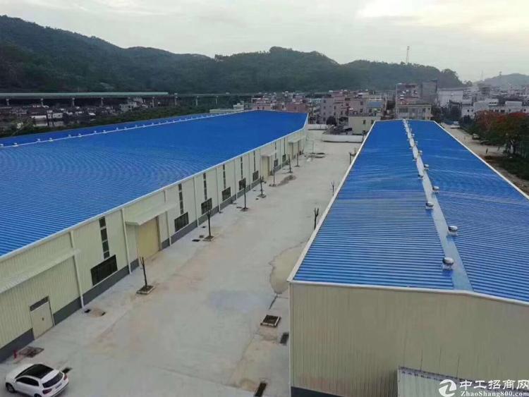 惠州靠深圳新出原房东独门独院钢结构厂房约20000平,价格便