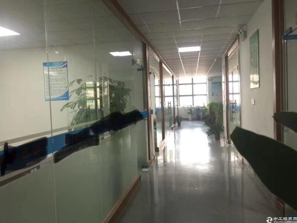 福永桥头地铁口附近写字楼带精装修350平方