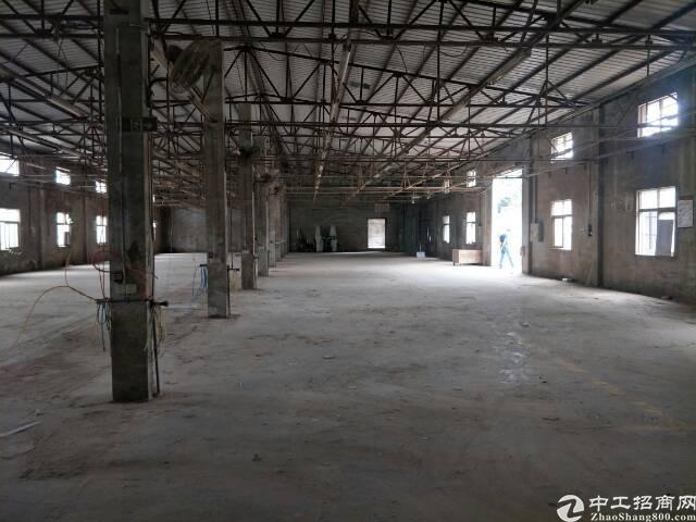同乐钢构厂房高6米3000平方大小可以分租