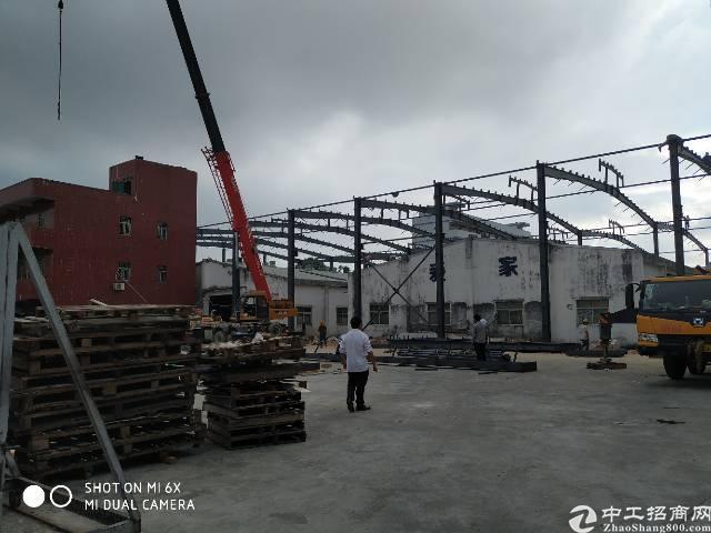 龙岗坪地10米高独院钢构厂房8000平米,可分租