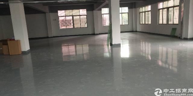 坂田天安云附近新出带装修楼上800平厂房出租可分租