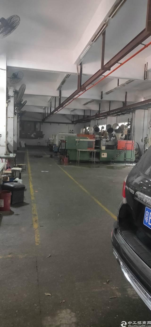 新出平湖山厦杉坑工业区一楼550平方带行车厂房出租