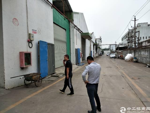 深圳沙井新出单一层滴水9米高1450平厂房出租