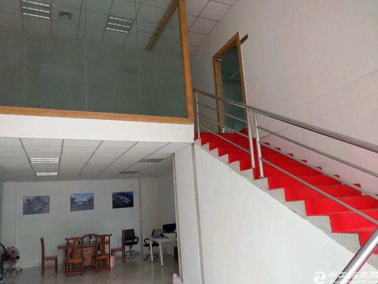 龙华大浪原房东厂房一楼1300平招租,现成航吊和阁楼