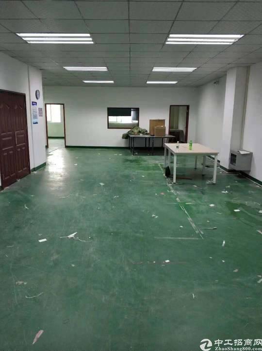 南岭龙山工业区新出360平厂房,带卸货平台,空地大,