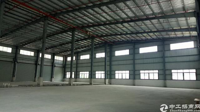 厚街镇高速出口附近新出独门独院单一层厂原房东仓库8000平方