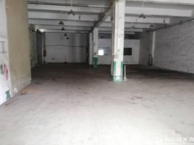 沙井宝安大道,南环路旁边,新出一楼厂房400平,高5米