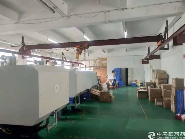 福永凤凰新出厂房750平,有装修,带办公室,无需转让费