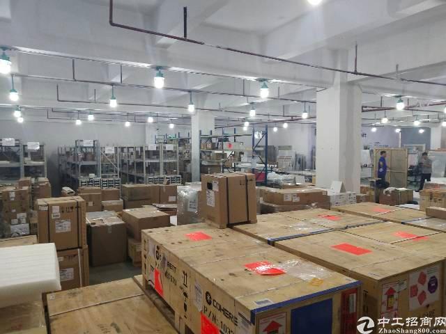 福永沿江高速口楼上1000平方,带装修厂房出租。