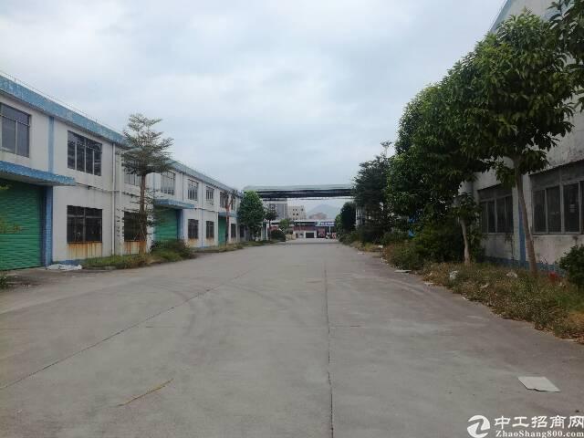 惠州博罗新出10米砖墙到顶单一层空地大形象好红本厂房