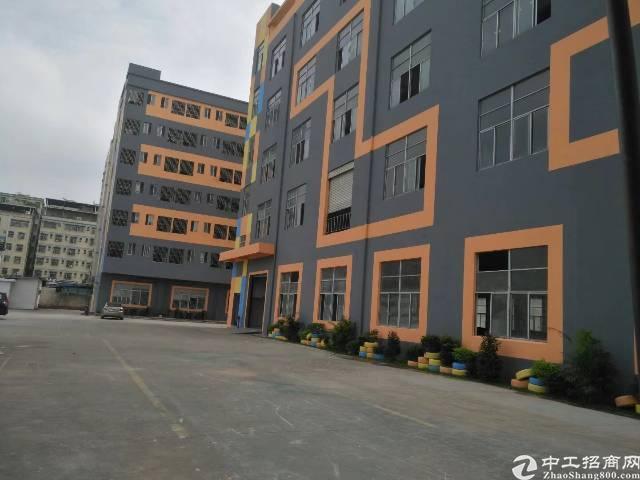 东莞市厚街镇主干道边厂房1-3层4200,宿舍1800,总面