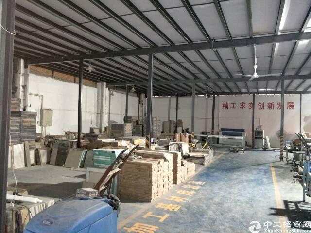 硚口古田五路400平一楼仓库,市区广告制作厂房带办公。