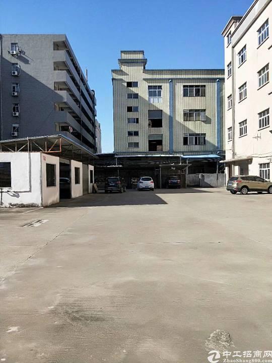 茶山新出独门独院标准厂房8600平方形象漂亮空地大