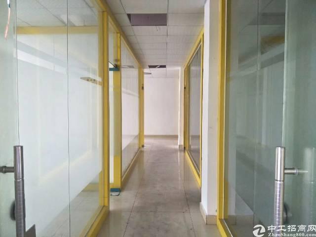 松岗主干道边上新出楼上精装修厂房950平米