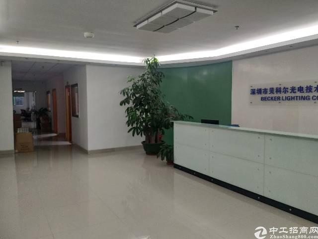 公明镇长圳新出楼上一整层1750平带装修