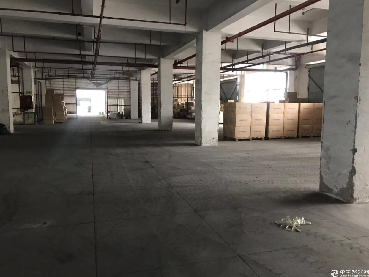 坂田带卸货平台一楼厂房出租