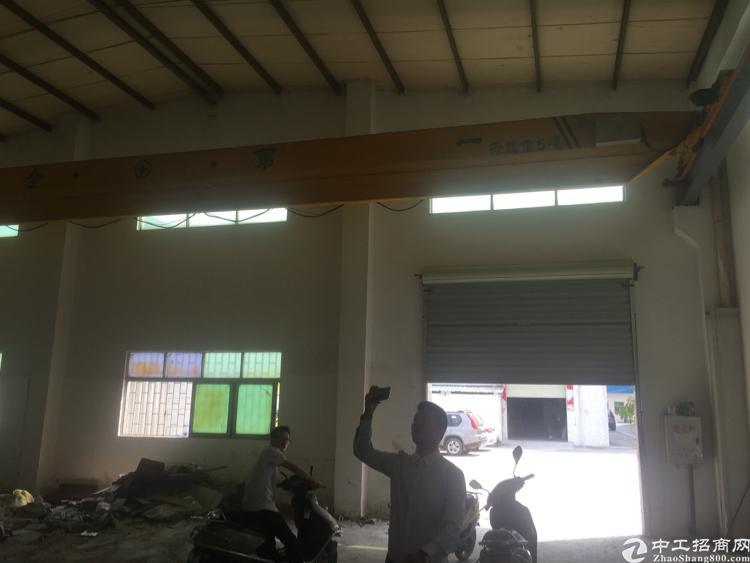 沙井新出标准钢构带两部五吨行车空地大