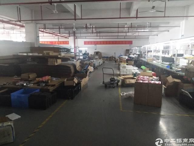 后亭地铁口高新产业园楼上带装修厂房1080平方出租