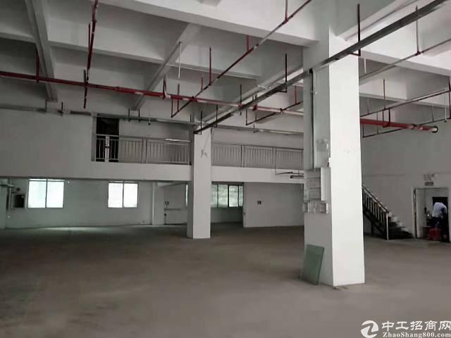 西乡簕竹角原房东一楼厂房750平米出租