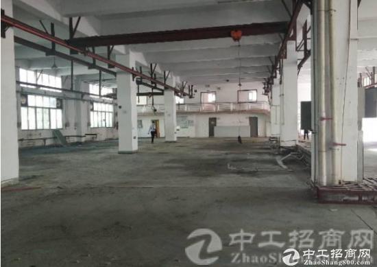 厚街镇白濠村独院厂房一楼带阁楼总面积1800平可做重工业生产