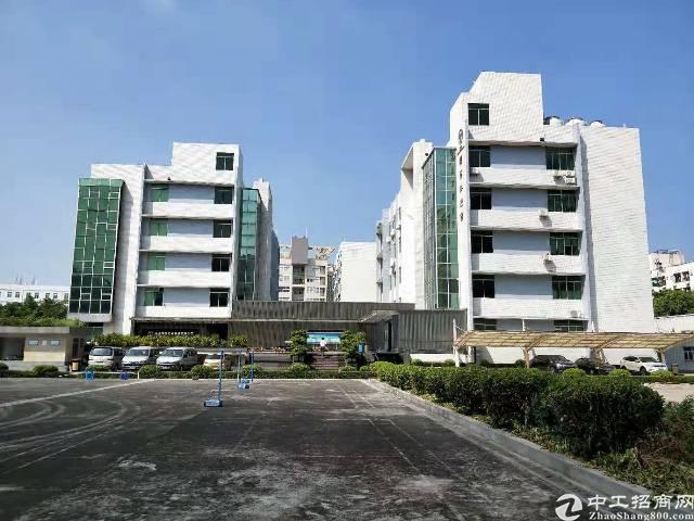 宝安西乡京港澳高速路口漂亮标准厂房出租最小500平米