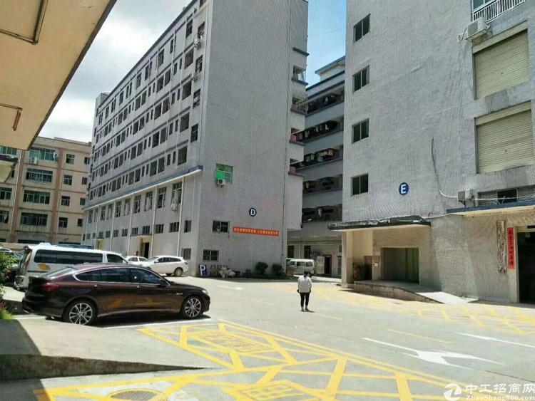 龙岗布吉上李朗工业区新出1-5层单层面积1680平重工业厂房