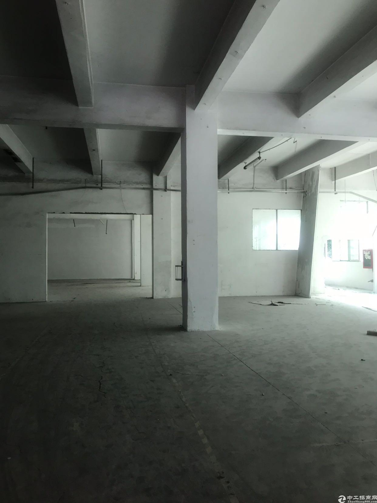 龙华新区新出红本厂房1-3层5500平